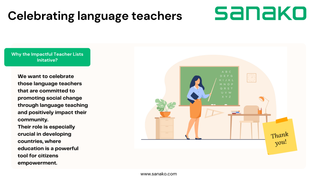 Why teacher lists infographic